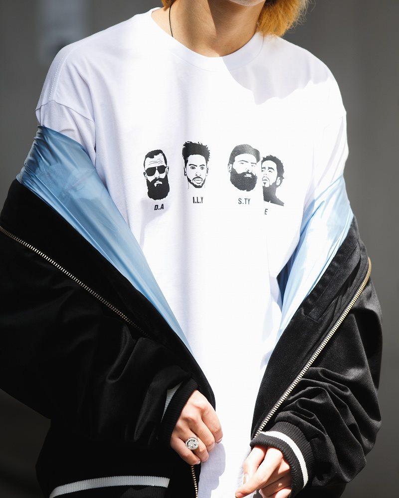 《2色》4guysTシャツの画像4